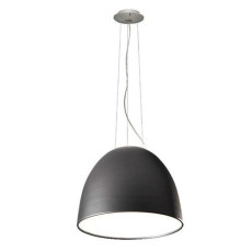 Artemide Nur 1618 LED Suspension lamp LED 95W Ø90 cm Grey Anthracite