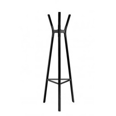 Magis clothes hangers SteelWood coat stand H 160 cm white/black