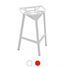 Magis Stool One Fireproof Stackable H 84 cm, Also for outdoor use