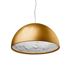 Flos Suspension lamp Skygarden 1 1 Light E27 Ø 60 cm Gold