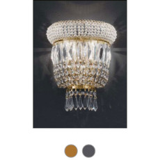 Osaka Empire Wall Lamp L 20 cm Voltolina Style 2 E14 lights