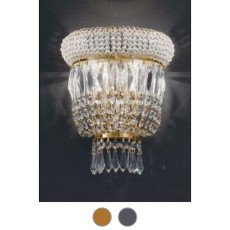 Osaka Empire Wall Lamp L 32 cm Voltolina Style 3 lights E14