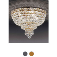 Empire Beethoven Ceiling Lamp Ø 40 cm Voltolina Style 4 lights E14