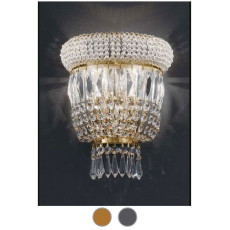 Settat Empire Wall Lamp L 30 cm Voltolina Style 3 E14 lights