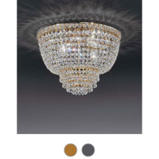 Settat Empire Ceiling Lamp Ø 30 cm Voltolina Style 3 E14 lights