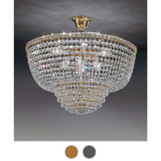 Settat Empire Suspension Ø 51 cm Voltolina Style 6 E14 lights