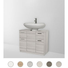 Column cover Gaia L 70 cm with doors and drawers Savini