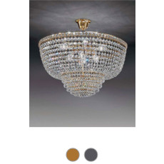 Settat Empire Suspension Ø 31 cm Voltolina Style 3 E14 lights