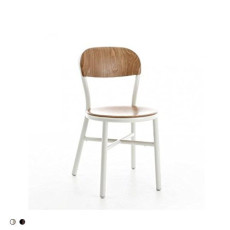 Magis Chair Pipe stackable in beech wood H 80 cm L 45 cm
