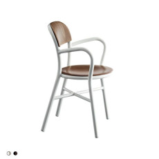 Magis Chair Pipe with armrests stackable H 80 cm L 56 cm