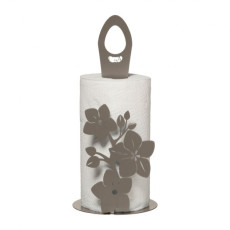 Arti e Mestieri Floral kitchen roll holder Fior di Loto