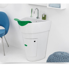 Colavene 60x53,5x82 wash sink with washstand and storage compartment
