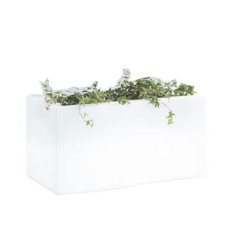 PRIVE' light Pot Out. cm.86 X 48 X H43 LIGHT WHITE