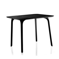 Magis square table First L 79,2 cm black HPL plan, also for outdoor use