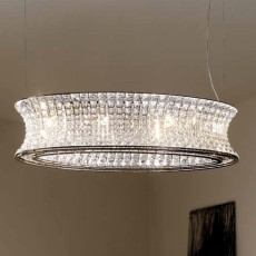 Marchetti Ring Pendant lamp L 70 cm 6 Light