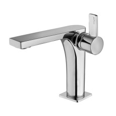 Paffoni Basin mixer without waste Rock H 17.8 cm