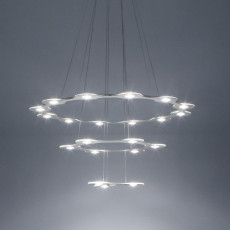 Lumen Center FLAT SATURN 3 Suspension lamp LED 132,3W Ø 98 cm