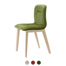 Scab Natural Alice Pop Chair without armrests L 46 cm