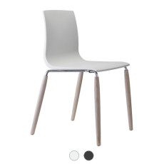 Scab Natural Alice Chair without armrests L 51 cm