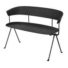 Magis Bench Officina L 125cm Structure in Grey Anthracite with Divina MD