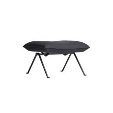 Magis Ottoman Officina L 61.5cm Structure in Grey Anthracite with Divina Melange