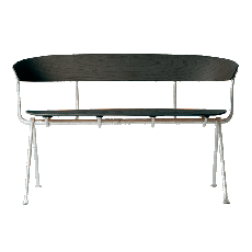 Magis Bench Officina L 125cm Structure in Grey Anthracite