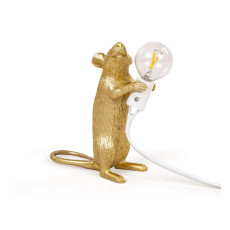 Seletti Table lamp Mouse Lamp Step 1 Light E12 H 14,5 cm Outdoor