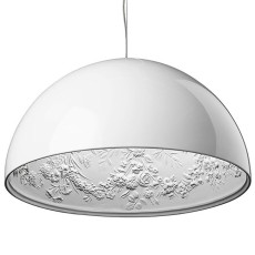 Flos Suspension lamp Skygarden 1 Ø 60 cm 1 light E27 White