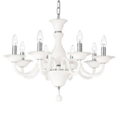 Fan Europe Murano glass chandelier Soffio E14 Ø 72 cm