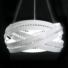 Marchetti Essentia Suspension Swarovski Crystals Spectra Ø60 3Lights