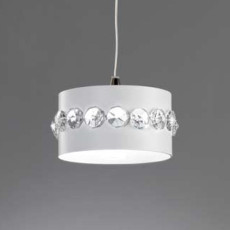 Marchetti Pendent Lamp Cristal Essentia Ø 13 cm 1 Light Various Colors