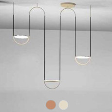 Sillux Pendant lamp Giotto LED 42W L122 cm
