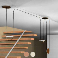 Sillux Pendant lamp Giotto LED 42W L172 cm