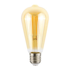 Vintage Light Bulb Linear Line ST64 GOLD 4W E27 2000 K 220/240 V 6.4x14.5 cm  Dimmable DLItalia