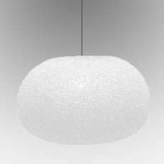 Lumen Center Sumo S Suspension lamp 1 light 77W Ø 34 cm