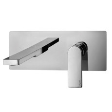 Paffoni Built-in washbasin mixer with spout and aerator l. 200mm Tango L 25x10 cm