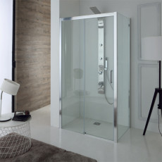 Tamanaco Shower enclosure corner structure with fixed side (right side) and sliding door h. 2m