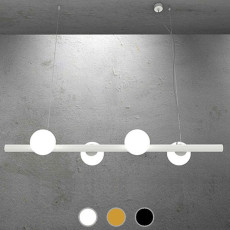 Marchetti Pendant lamp Tin Tin E14 L 100 cm 4 lights