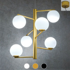 Marchetti Pendant lamp Tin Tin E14 Ø 70 cm 6 lights