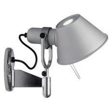 Artemide wall lamp. Tolomeo spotlight  LED 11W 410lm 3000K H23cm