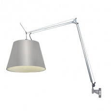 Artemide floor lamp Tolomeo Mega LED + Support dimmable wall 31W 1500lm 3000K Vari Colori