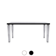 Kartell Table Toptop 190x90cm with Glass Top