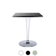 Kartell Table Square Toptop round base Ø 60cm