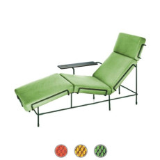 Magis Chaise Longue Traffic Covered in fabric L 155 cm