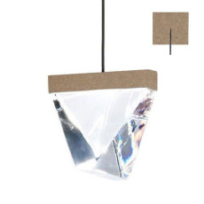 Fabbian pendant lamp Tripla LED 4.3W L 9,8 IP55 Dimmable