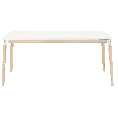 Magis Table Steelwood L 180cm Tabletop in White Natural