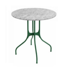 Magis Round Table Mila? ? 60cm Carrara Marble White
