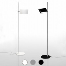 Danese Milano Floor lamp Two Flags LED 35,5W H 183 cm