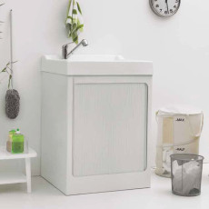 Colavene Lavacril on mobile with ABS 73x67,5x109 cm washbasin and concealed roller shutter