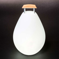 Rechargeable battery lamp portable Smart & Green Vessel 2 LED RGB + WHITE